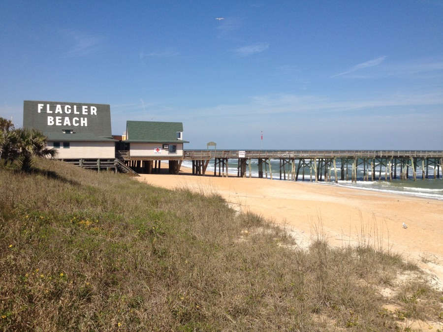 Flagler Beach Florida Is A Funky Little Town Nestled Between Its Two Famous Neighbors St Augustine And Daytona Growing Up As Ocean City