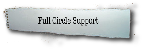 support banner