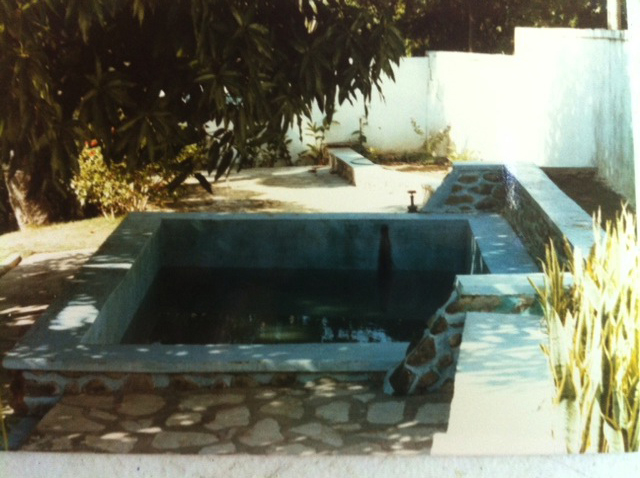 Flashbackfriday living in haiti flagler surf follow for Garden pool haiti