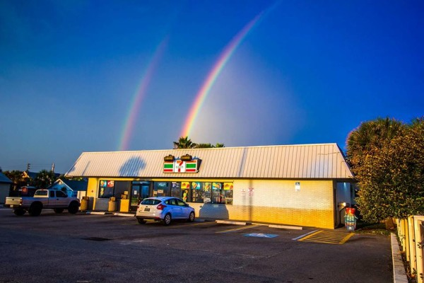 7-11 rainbow
